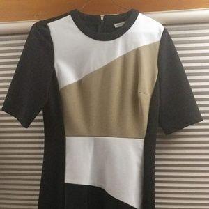 Dresses & Skirts - Fun Black and Gold Dress Size 6